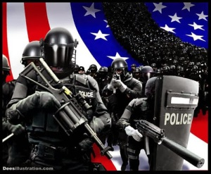 8141b-police-state-deesillustrations